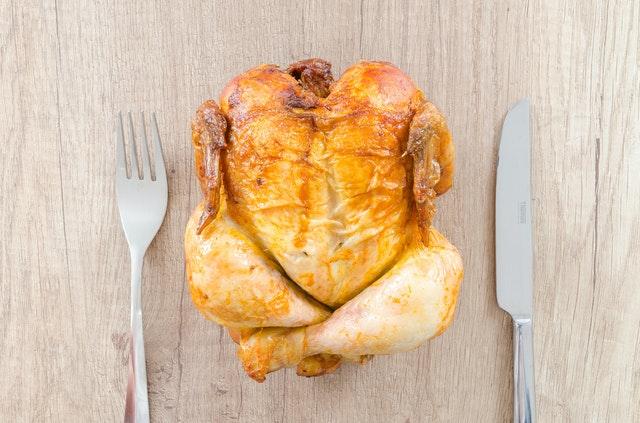 aprender a comer saludable pollo